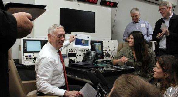 Mỹ tuyên bố tiếp tục đối đầu Trung Quốc trên Biển Đông - Ảnh 1.