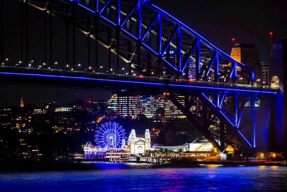 Rực rỡ đêm Sydney trong lễ hội ánh sáng - Ảnh 11.