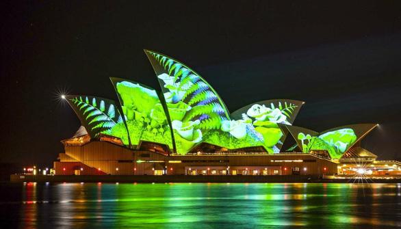 Rực rỡ đêm Sydney trong lễ hội ánh sáng - Ảnh 13.
