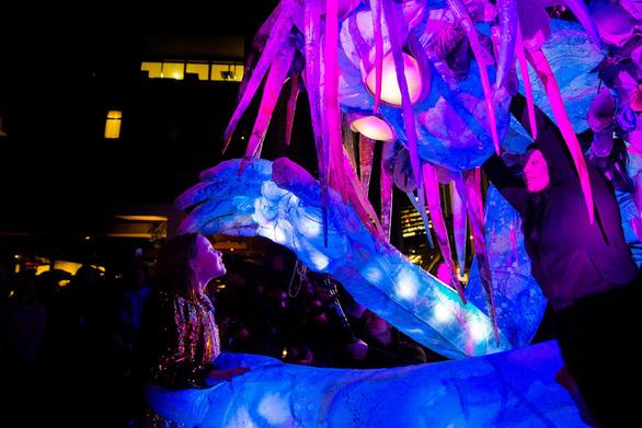Rực rỡ đêm Sydney trong lễ hội ánh sáng - Ảnh 5.