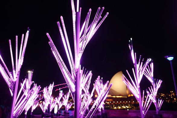 Rực rỡ đêm Sydney trong lễ hội ánh sáng - Ảnh 6.