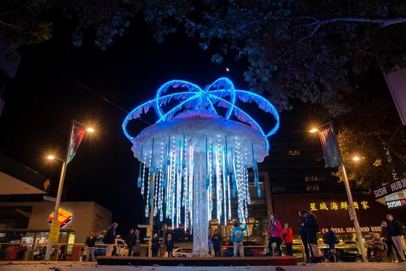 Rực rỡ đêm Sydney trong lễ hội ánh sáng - Ảnh 9.