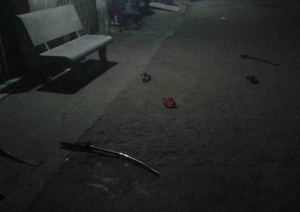 Hai nhóm thanh niên hỗn chiến: 1 người chết, 1 bị thương - Ảnh 2.