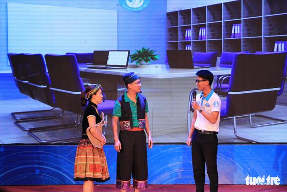 Nguyễn Hoàng Phúc giành quán quân hội thi Thủ lĩnh sinh viên toàn quốc - Ảnh 3.