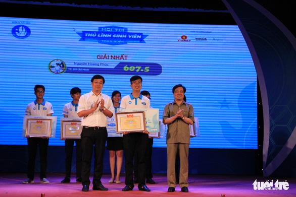 Nguyễn Hoàng Phúc giành quán quân hội thi Thủ lĩnh sinh viên toàn quốc - Ảnh 1.