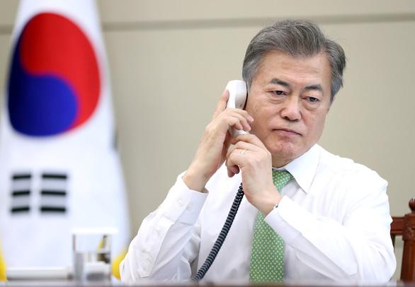 Ông Trump sẽ gặp Tổng thống Hàn Quốc trước hội đàm Mỹ - Triều - Ảnh 1.