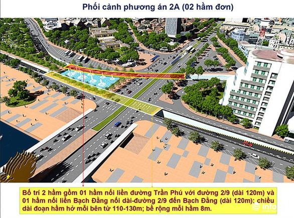 Đà Nẵng chọn phương án giao thông đầu cầu Rồng, cầu Trần Thị Lý - Ảnh 2.