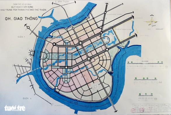 Ông Võ Viết Thanh công bố 13 bản đồ quy hoạch Thủ Thiêm 1/5000 - Ảnh 11.
