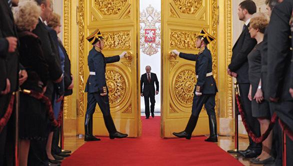 Tổng thống Vladimir Putin tuyên thệ nhậm chức, bước vào nhiệm kỳ thứ 4 - Ảnh 6.