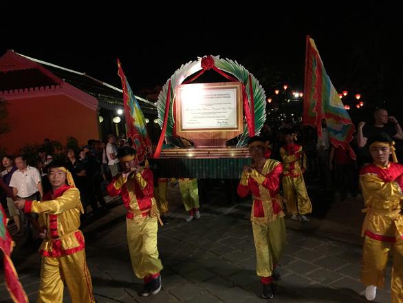 Hội An đón bằng vinh danh bài chòi từ UNESCO - Ảnh 2.
