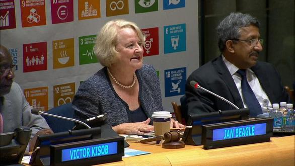 Liên Hiệp Quốc tung công cụ trị những kẻ quấy rối tình dục - Ảnh 1.