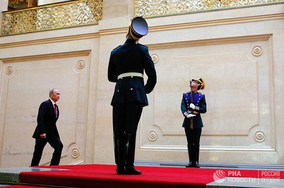 Tổng thống Vladimir Putin tuyên thệ nhậm chức, bước vào nhiệm kỳ thứ 4 - Ảnh 7.