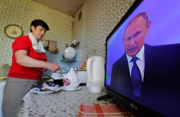 Tổng thống Vladimir Putin tuyên thệ nhậm chức, bước vào nhiệm kỳ thứ 4 - Ảnh 4.