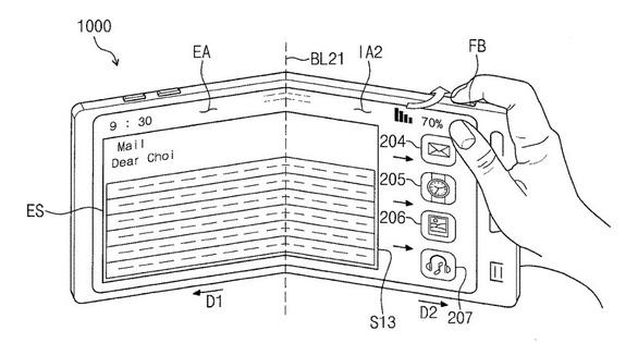 Thêm hình ảnh rò rỉ về chiếc điện thoại gập màn hình của Samsung - Ảnh 1.