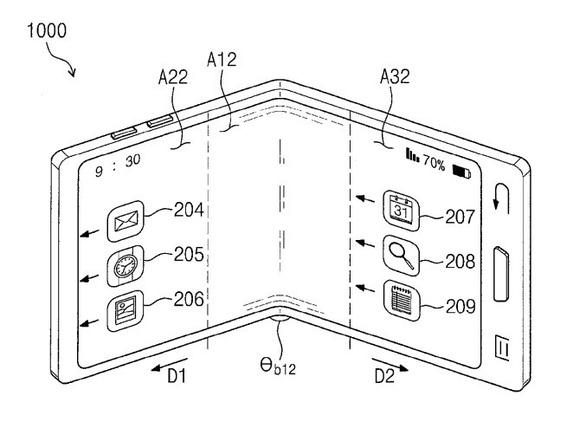 Thêm hình ảnh rò rỉ về chiếc điện thoại gập màn hình của Samsung - Ảnh 2.