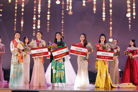 Nữ sinh Học viện Ngoại giao khoe tài trong chung kết Hoa khôi - Ảnh 6.