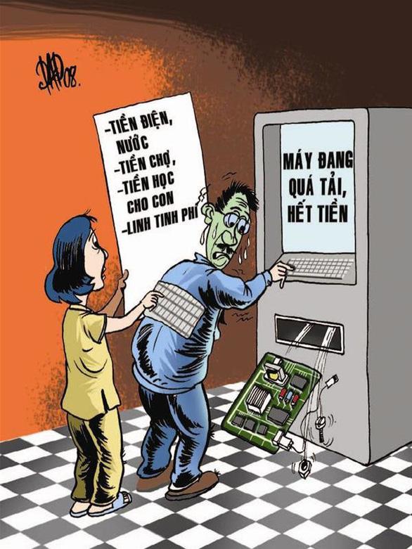 Lại tăng phí rút tiền ATM nội mạng lên 1.500 đồng/lượt - Ảnh 3.