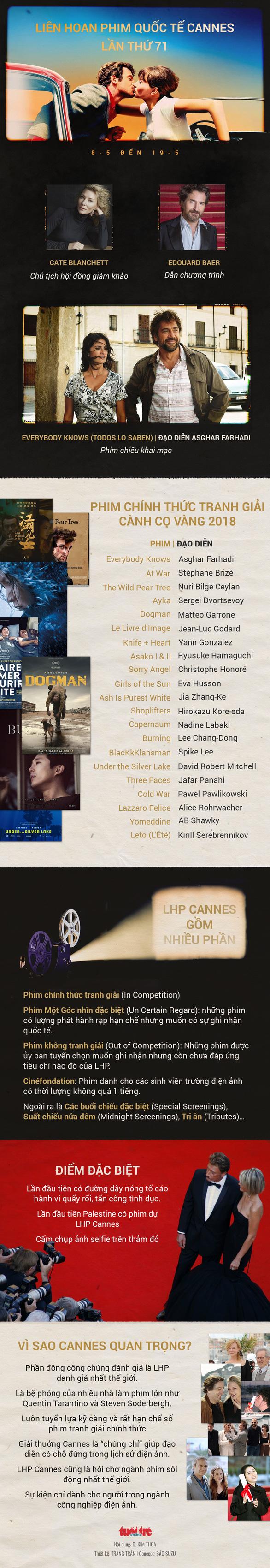 Cannes 2018: Phim Lý Nhã Kỳ góp vốn không đoạt giải nào - Ảnh 11.