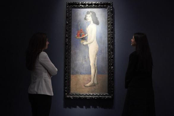 Bức họa nude của Picasso bán được 115 triệu USD - Ảnh 1.