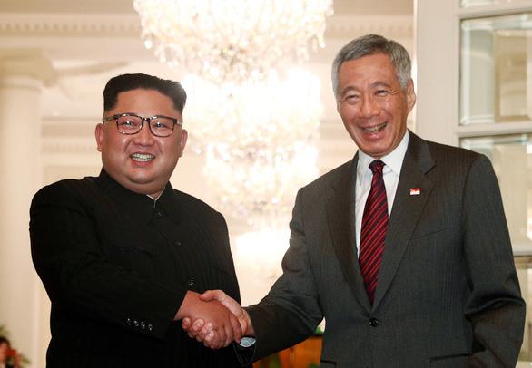 Ông Kim Jong Un cảm ơn ông Lý Hiển Long tổ chức thượng đỉnh Mỹ-Triều - Ảnh 1.