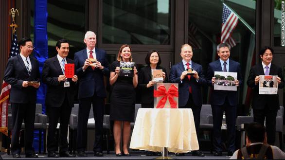Mỹ mở đại diện ngoại giao tại Đài Loan khiến Trung Quốc tức tối - Ảnh 1.