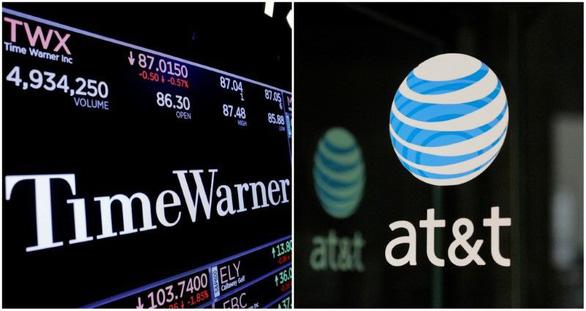 AT&T được quyền thâu tóm Time Warner với giá 85 tỉ USD - Ảnh 1.