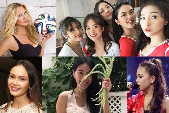 14-6: vợ Công Vinh, bạn gái Quang Hải và hot girls World Cup nóng bỏng - Ảnh 1.