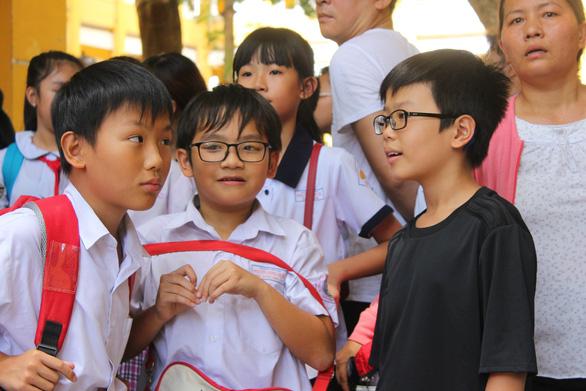 Giải pháp bảo vệ môi trường vào đề thi lớp 6 Trần Đại Nghĩa - Ảnh 1.