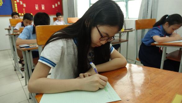 Hơn 4.000 học sinh thi vào lớp 6 Trường Trần Đại Nghĩa - Ảnh 14.