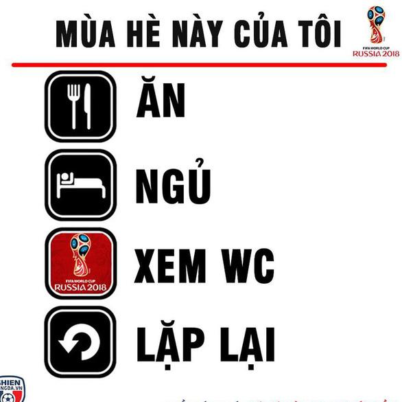 Fan Việt sẵn sàng một mùa hè ăn - ngủ cùng bóng đá - Ảnh 3.