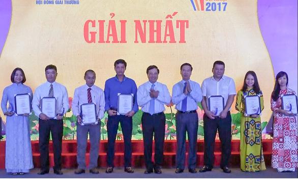 67 tác phẩm đạt Giải thưởng toàn quốc về thông tin đối ngoại 2017 - Ảnh 1.