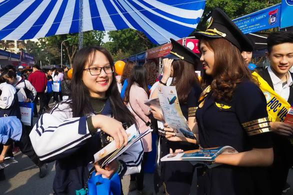 Ngày hội tư vấn xét tuyển: hơn 150 gian tư vấn đã được đăng ký - Ảnh 1.