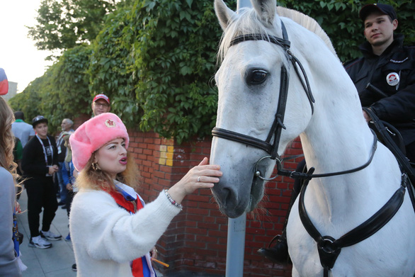 Cảnh sát đi ngựa có phải để 'làm kiểng' ở World Cup 2018? - Ảnh 2.