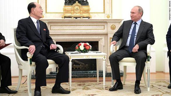Ông Putin mời 'đồng chí' Kim Jong Un đến thăm Nga - Ảnh 2.