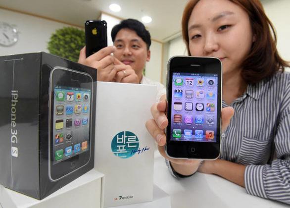 iPhone 3GS 'mới tinh' mở bán lại tại Hàn Quốc - Ảnh 1.