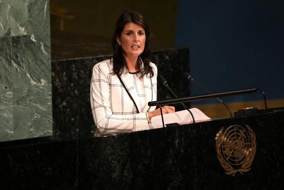 Mỹ bắn tin có thể rút khỏi Hội đồng nhân quyền Liên Hiệp Quốc - Ảnh 1.