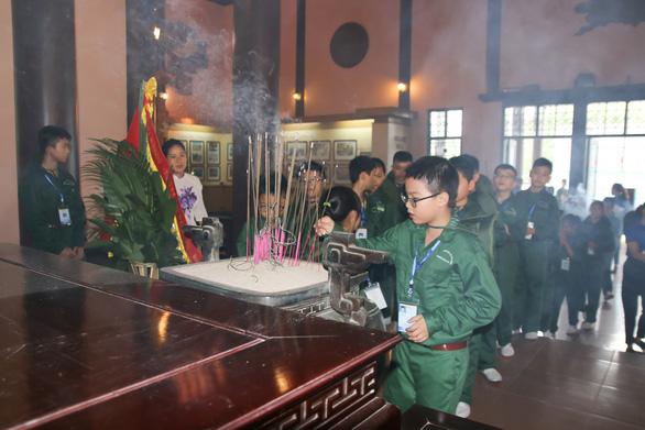 200 chiến sĩ nhí Thanh Hóa bước vào Học kỳ quân đội - Ảnh 2.