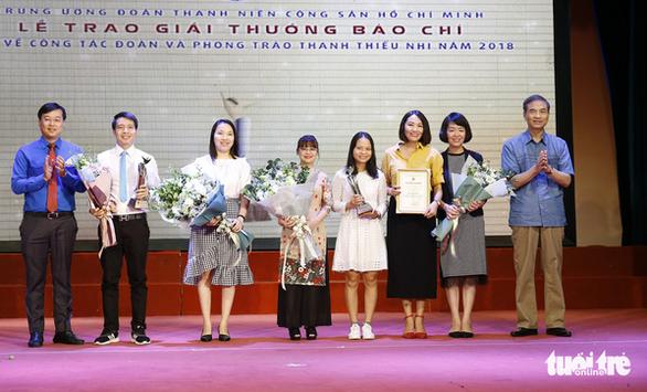 Tuổi Trẻ đoạt giải nhất viết về công tác Đoàn năm 2018 - Ảnh 1.