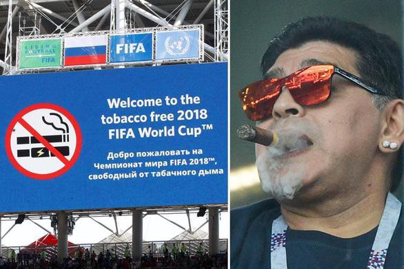 Maradona phì phèo xì gà, 'phân biệt chủng tộc' tại World Cup - Ảnh 4.