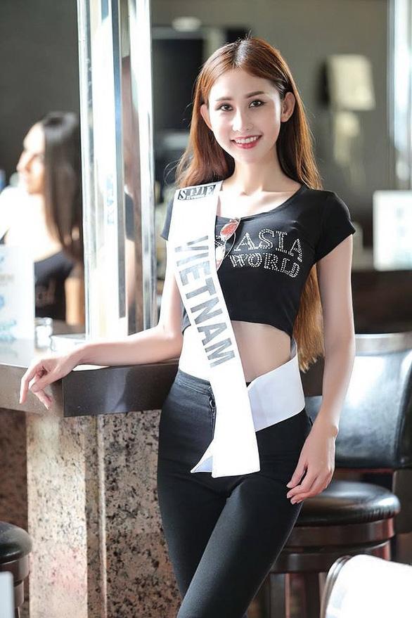 Chi Nguyễn tại Hoa hậu châu Á Thế giới những ngày đầu tiên - Ảnh 1.