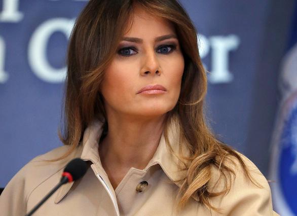 Đệ nhất phu nhân Melania Trump phản đối chính sách nhập cư của chồng - Ảnh 1.