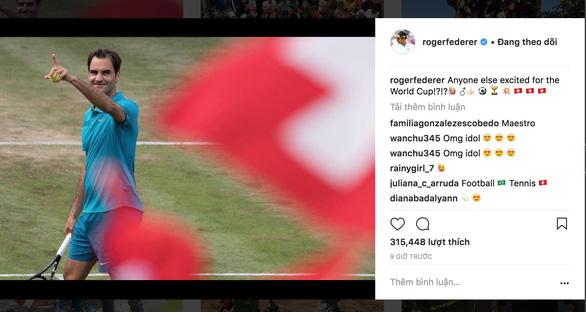 Roger Federer, Người phán xử sống cùng World Cup - Ảnh 1.