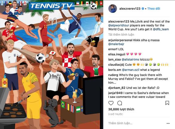 Roger Federer, Người phán xử sống cùng World Cup - Ảnh 4.