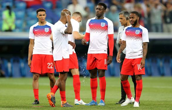 Tuyển Anh vừa thi đấu, vừa xịt chống muỗi trên sân World Cup - Ảnh 8.