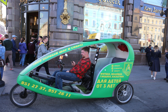 Đến Nga xem World Cup, cẩn thận với 'taxi rẻ thứ 3 thế giới' - Ảnh 3.