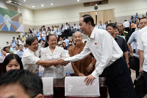 Chủ tịch nước: Vụ việc tại Bình Thuận, TP.HCM là do bị kích động - Ảnh 1.