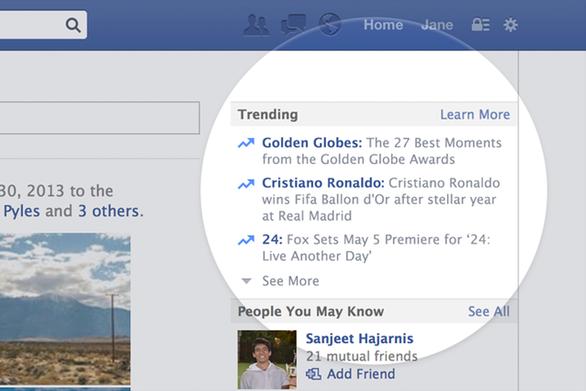 Facebook tuyên bố bỏ phần tin tức nổi bật - Ảnh 1.