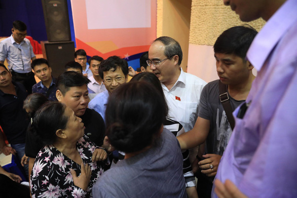 Bí thư Nguyễn Thiện Nhân: Thành phố không gạt bà con Thủ Thiêm - Ảnh 8.