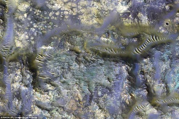 Đụn cát màu xanh bí ẩn trên Sao Hỏa - Ảnh 6.