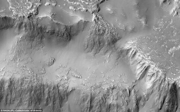 Đụn cát màu xanh bí ẩn trên Sao Hỏa - Ảnh 3.